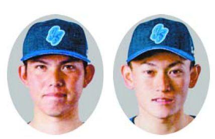 【左】松本憲明【右】橋本球史