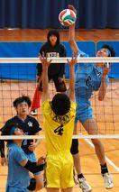 全日本高校バレー徳島県予選 男子・徳島科技連覇 女…