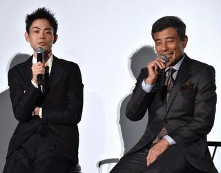 舘ひろし、映画10回観たお客さんに「暇ですねえ」 菅田将暉がすかさずツッコミ