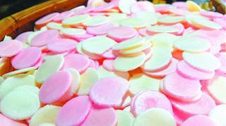 花嫁菓子(河原製菓所徳島市) 幸せ運ぶ懐かしの味