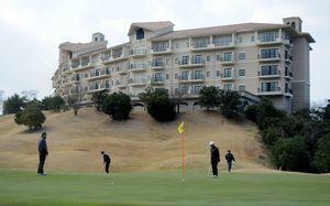 5月に県内では14年ぶりとなる日本女子ゴルフツアーが行われるグランディ鳴門