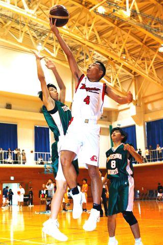 全国高校バスケットボール県予選 熱戦の火ぶた切る