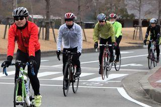 新春の鳴門路を快走 サイクリングイベント