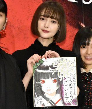 玉城ティナ、ストレス解消に「絶対見せられないノート」 『地獄少女』能登麻美子リピートし役作り