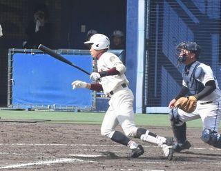 富岡西、初戦に向け課題確認 選抜高校野球
