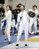 日本、女子エペで11位