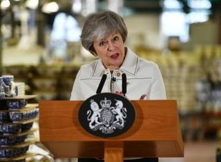 英議会、EU離脱案を否決の公算