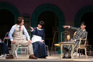 中村倫也「麻生さんの魅力が狂おしいほど爆発」 麻生久美子とW主演の舞台『クラッシャー女中』開幕
