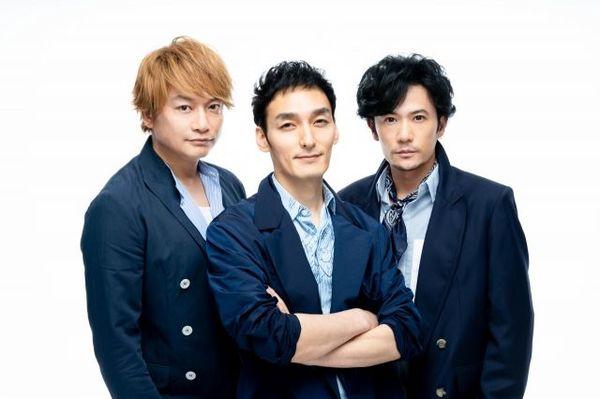 (左から)香取慎吾、草なぎ剛、稲垣吾郎