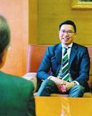 香港・経済貿易代表部 ウー代表が副知事訪問