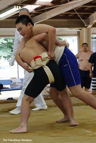 【徳島県中学総体・写真特集】相撲