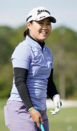 ゴルフ畑岡、20歳のシーズンへ