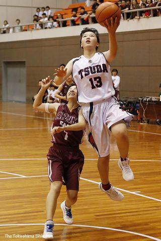 【徳島県中学総体・写真特集】バスケットボール男女・15日