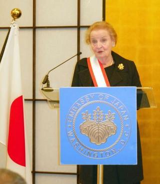 日米の強固な同盟と共栄を強調
