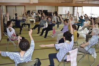 介護予防に運動教室人気 徳島市18年度過去最多利用2・8万人