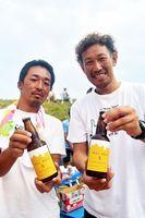 カモン牟岐が製造した地ビール=牟岐町内