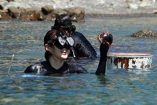 徳島・美波町で海女漁に挑戦 「海女さん体験塾」を8月開催