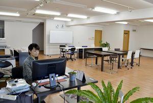30日に閉鎖される「女性起業家支援ルームACT」=徳島市仲之町4