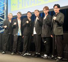 新プロジェクト「DEEP SQUAD」(左から)YUICHIRO、杉山亮司、TAKA、比嘉涼樹、宇原雄飛、KEISEI (C)ORICON NewS inc.