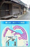 伝統的な「ミセ造り」が多く見られ、重伝建に選定されることになった集落=牟岐町の出羽島