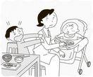【子育て何でも相談】赤ちゃん返り 甘えたい欲求を満…