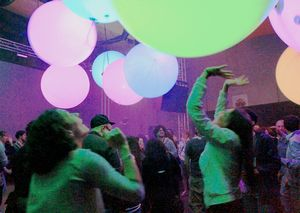 「チームラボ ミュージック フェスティバル」のイメージ画像(チームラボ提供)