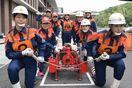 徳島県阿波市の女性消防班が全国操法大会に出場 30…