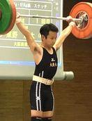 東野(徳島科技高出)2位 重量挙げ西日本学生選手権