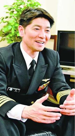 海上自衛隊第24航空隊司令に就任 林隆司さん