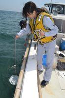 海開き控え、水質検査 徳島・小松海岸
