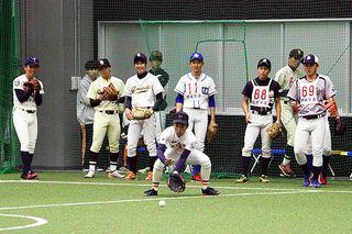 阿南で大学軟式野球の日本代表選考 12月グアムで大会