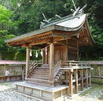 国の登録有形文化財とするよう答申された今宮神社の本殿=三好市井川町辻(県教委提供)