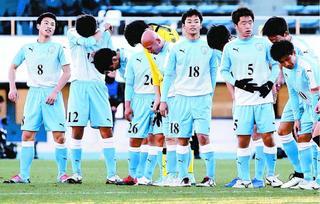 【全国高校サッカー】「速くて、うまかった」徳島市立 静岡学園に敗れ4強進出ならず