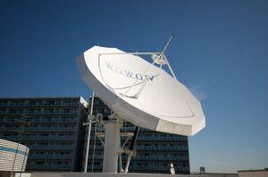 開局30周年を迎えたWOWOW(写真は東京都江東区の放送センター)