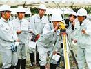ICT活用した工事見学 阿波市で科技高生