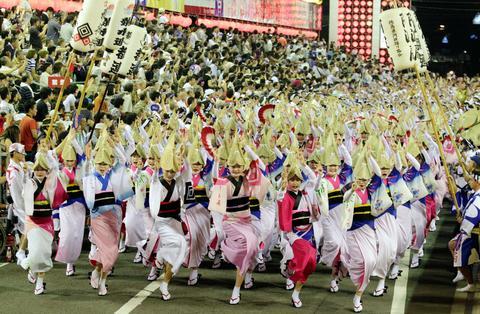 徳島市の阿波踊り 例年通り8月12~15日開催 新実行委諮問機関、演舞場 ...