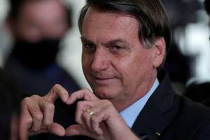ブラジルのボルソナロ大統領(ロイター=共同)