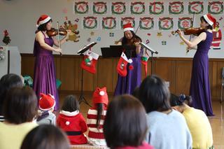 親子で音楽会楽しむ 北島 出張子育てイベント