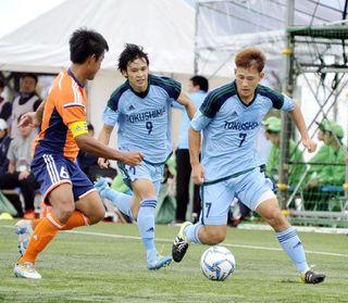 福井国体、サッカー成年男子11年ぶり8強