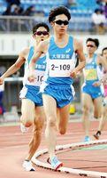 男子1500メートル決勝 3分55秒16で優勝した國行