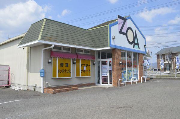 9日に閉店するZOA徳島店閉店=徳島市川内町