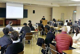 徳島市で自治体職員研修 本社記者が講義