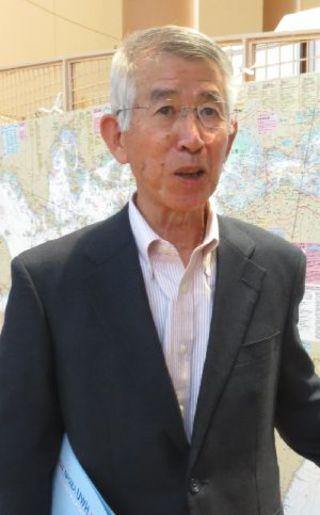 奥村靖さん(海陽町関西ふるさと会会長)