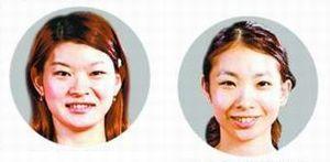 [写真右]松友美佐紀選手[写真左]高橋礼華選手