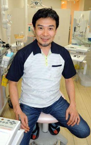 亀井稔之さん(亀井歯科医院院長)