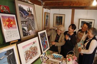 県南ゆかり作家のアート作品展示 美波町