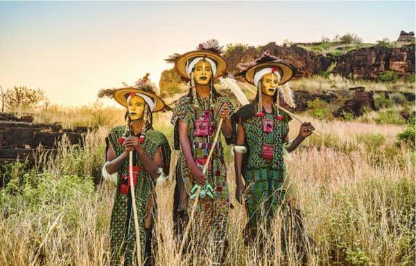 西アフリカで撮影したボロロ族。美意識が高いという