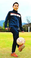 坂本(徳島市出身)頂点へ堅守統率 全国サッカー4強…