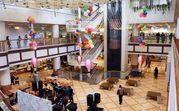 リニューアルオープンした小松島ショッピングプラザ・ルピア=小松島市小松島町領田