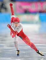 女子500メートルで優勝した小平奈緒=YSアリーナ八戸
